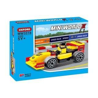 OXFORD - MW3318 - 迷你車 - F1 賽車    (MINI WORLD F1)