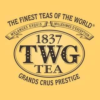 10 bags of TWG Tea Luxury Cotton Tea Bags