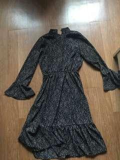 Korean frill dress