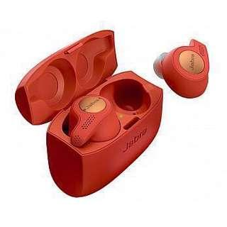 全新行貨Jabra Elite Active 65T 真*無線 True Wireless Headphone,跟單,香港Jabra代理2年保養(Compucon)紅色