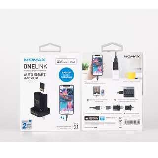 Momax ONELINK Micro SD Backup Adaptor 備份轉插 CL2D 行貨兩年保養 跟單