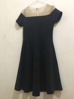 Dress Hitam Sabrina