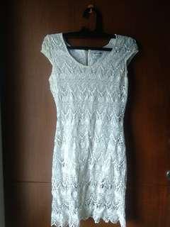 Dress kondangan/casual (Broken White)