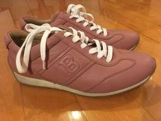 100% real Bally Mauve Pink Sneakers