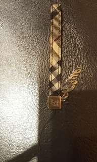 二手正品 Burberry 鑰匙圈