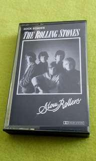 🚚 ROLLING STONES . slow rollers . Cassette tape not vinyl record