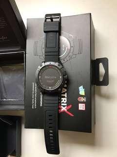 99%New Matrix PowerWatch X Smartwatch Fitness Tracker Black