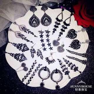 Pre order korea earrings $150~$250