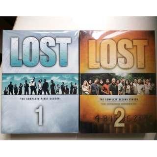 TV Show Drama LOST Season 1 - 2 DVD (region 1)