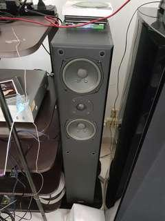 🚚 BMB TOWER SPEAKER PAIR WITH SPIKES