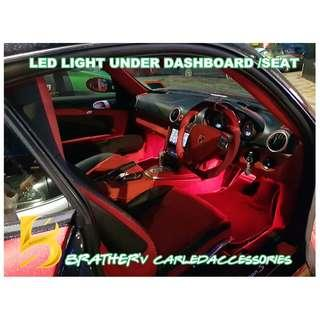 (10) LED Light Under Dashboard Under Seat