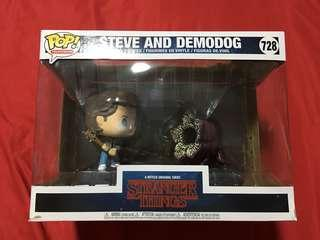 Funko Pop! Stranger Things Pop Television Moments Steve and Demodog #728