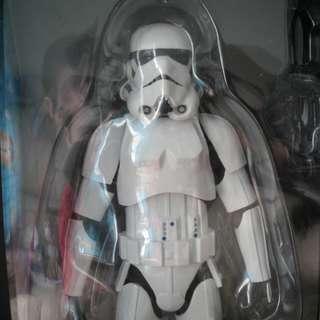 絕版全新 Star Wars 12 吋白兵 , 盒有小小殘 !