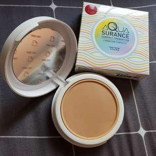 Blessing! Needy family only! J.Cat Aquasurance Compact Foundation in Soft Tan ACF104