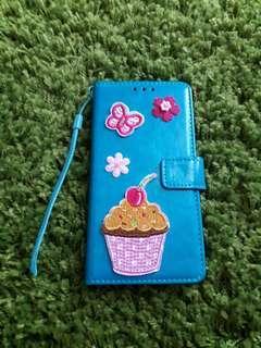 Samsung Galaxy J7 Flip Case Wallet Cover