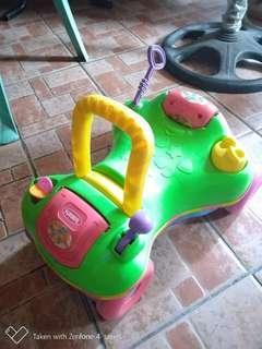 Playskool 2 in 1 walker and playride/car