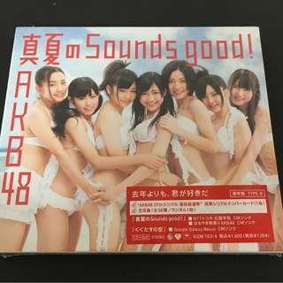 AKB48 26th單 真夏のSounds good! CD+DVD 通常盤 Type B akb48