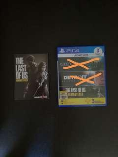 The Last Of Us Remastered (digital copy) includes 3 months PlayStation Plus membership