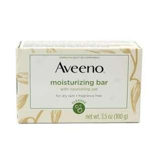 AUTHENTIC AVEENO Moisturizing Bar for Dry Skin 100g