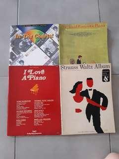 🚚 Piano Song Books