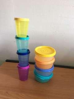 Brand new Tupperware Containers