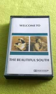🚚 THE BEAUTIFUL SOUTH . welcome to the beautiful south . Cassette tape not vinyl record