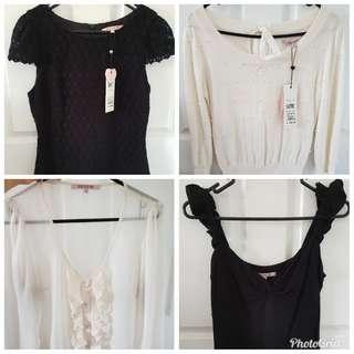 REVIEW tops