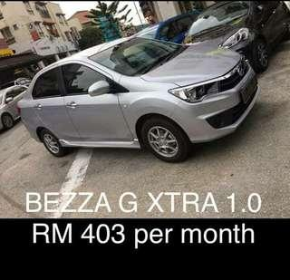 new perodua bezza 1.0 (A)2019 (not use car)