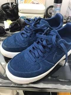 Nike Air Force 1 (BLUE SUEDE)