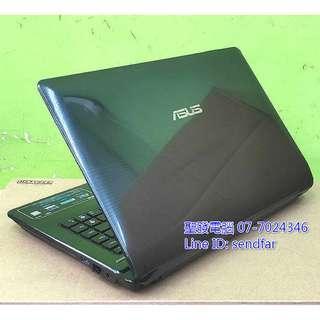 🚚 全新電池 超值穩定文書 ASUS K42F i3-380M 4G 500G DVD 14吋筆電 聖發二手筆電