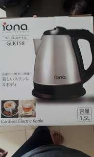 🚚 Cordless electric kettle