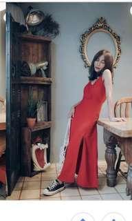 🚚 sislife 開叉洋裝