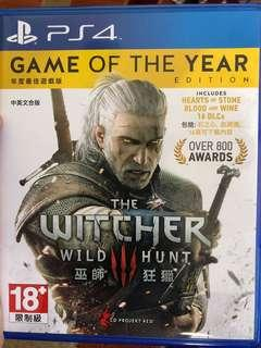 PS4 The Witcher 3 Wild Hunt (Includes All 18 DLC )