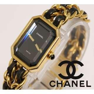 CHANEL VINTAGE WATCH YEAR 1987