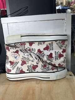 Vintage converse x Chicago bulls made in USA