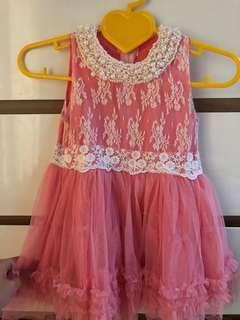 dress pink monte