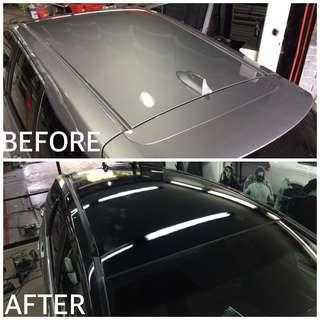 ROOF STICKER WRAPPING