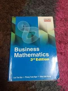 Business mathematic 3rd edition