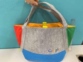 Google 絨面袋