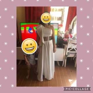 Long dress for rent (Size Medium to Large)