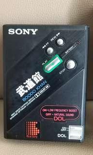 珍藏 sony 武道館 頂級型號 兩部