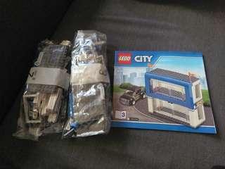 Lego 60097 車廠已砌連車