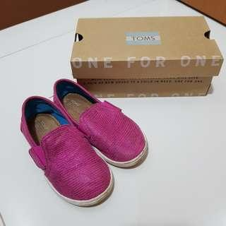 🚚 Toms Girl Sparking Shoes US8 / UK7 / EU24.5 / 15cm