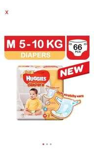 Huggies Gold Diaper M Size