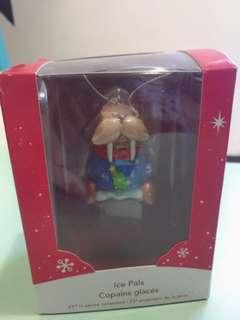 可愛聖誕吊飾三入