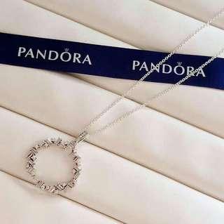 Pandora Necklace shards of sparkle