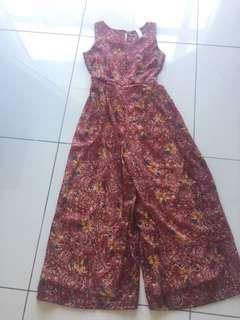Floral Jumpsuit (Fit to S-L)