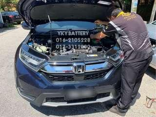 Kereta Bateri Honda CR-V, Amaron Hi Life 55B24L