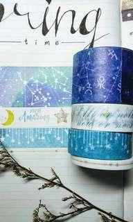 Galaxy Washi Tape Set!