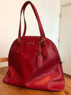 Cynthia Rowley Large Leather Bag Red